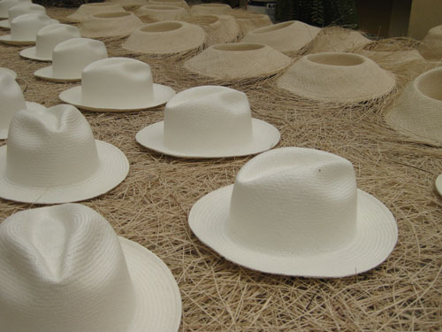 Hats drying