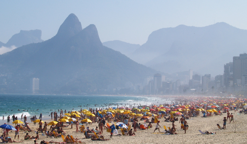 Ipanema in Winter