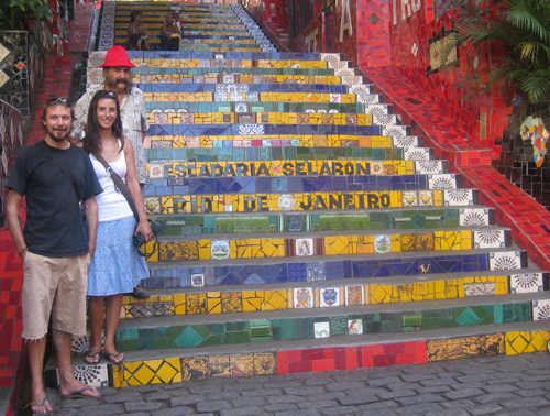 Selaron's steps