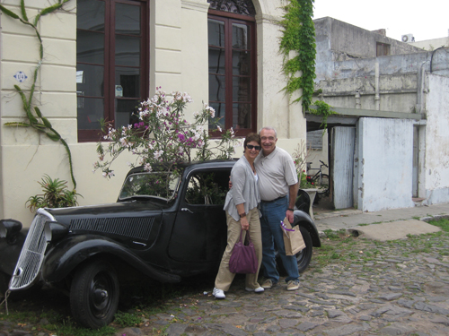 The rents in Colonia, Uruguay
